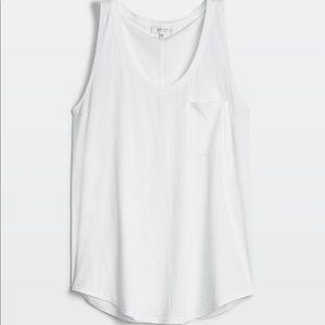 Aritzia Babaton Pocket Tank in White
